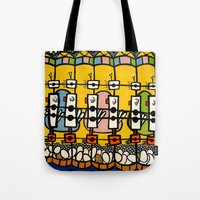 VIDEO CHICKENBOT INSPECTORS and the GOLDEN EGG MERRY-GO-ROUND Tote Bag