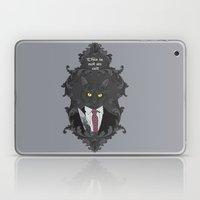 American Psycho Kitty Laptop & iPad Skin
