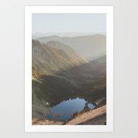 Pinnacle Peak V Art Print