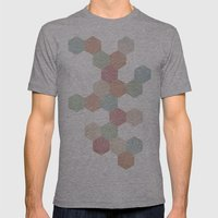 Pastel Mens Fitted Tee Athletic Grey SMALL
