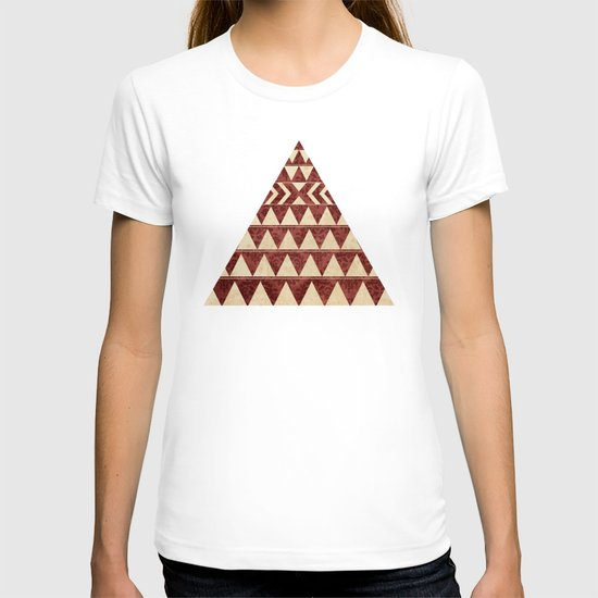 Vintage Material Triangles T-shirt