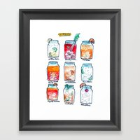 Happy Hour Framed Art Print