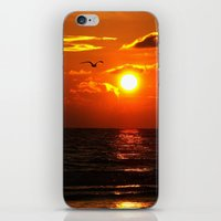 Madeira Beach Sunset 1 iPhone & iPod Skin