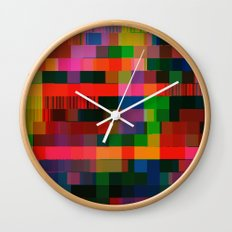videotape (bear2_hex) Wall Clock