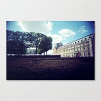 Louvre Gardens I Canvas Print