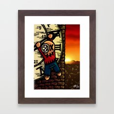 La fin des temps Framed Art Print