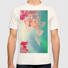 Three leaves and more Mens Fitted Tee Natural SMALL