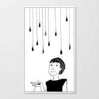This Rain Sucks Canvas Print