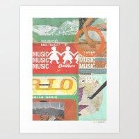 Music, Music, Music Art Print
