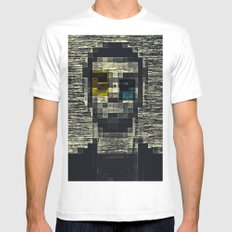 Self Portrait Ver. 3 White Mens Fitted Tee SMALL