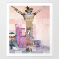 Caster Semenya's Gender … Art Print