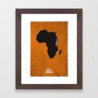 Help Somalia Framed Art Print