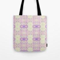 Fuzzy kaleidoscope Tote Bag