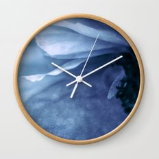 Lover's Blues Wall Clock