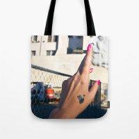 Old Lady Jane Tote Bag