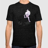 Ursula Mens Fitted Tee Tri-Black SMALL