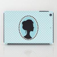 Blue cameo iPad Case