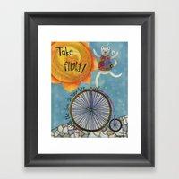 Take Flight With The Sun… Framed Art Print