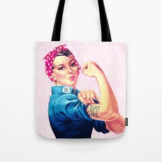 Fight Like A Girl Rosie … Tote Bag