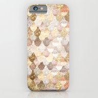 iPhone & iPod Case featuring REALLY MERMAID GOLD by Monika Strigel
