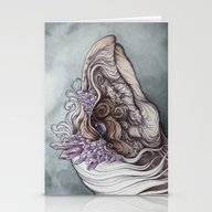 Stationery Cards featuring The Mystic by Caitlin Hackett