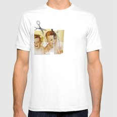 Tainted Minds White Mens Fitted Tee SMALL