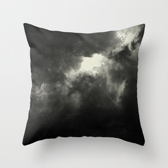 Hole In The Sky I Throw Pillow