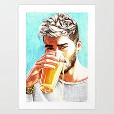 Zayn-Juice Art Print