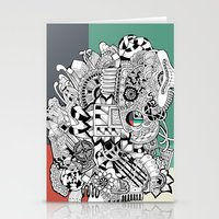 Orden inverso Stationery Cards