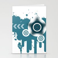 Vector IPhone Case Stationery Cards