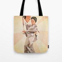 Polygonal Japanese Dance… Tote Bag
