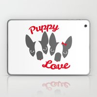 Puppy Love. Laptop & iPad Skin