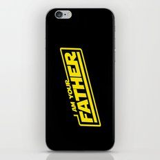I Am Your Father (yellow) iPhone & iPod Skin