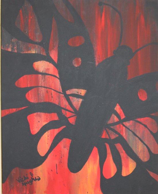 """monarch daydream"" Canvas Print"