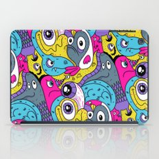 Idiot Bird Pattern iPad Case