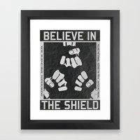 The Shield - WWE Framed Art Print