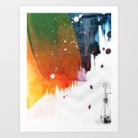 Splat Art Print