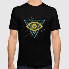 Illuminati Mens Fitted Tee SMALL Black