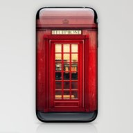 Magical Telephone Booth iPhone & iPod Skin