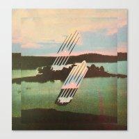 Canvas Print featuring `Floreau~ by Psychonautical