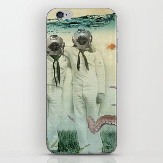 octopuses garden iPhone & iPod Skin