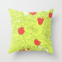When Life Gives You Stra… Throw Pillow