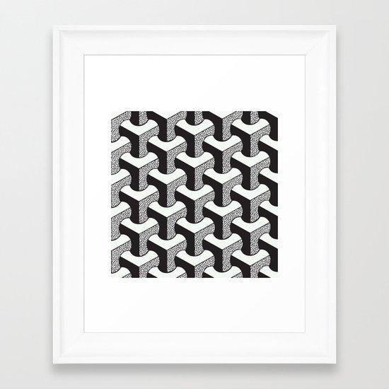 FUNGA v4 Framed Art Print