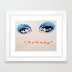 David Bowie Framed Art Print