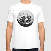 Lacrymosa Mens Fitted Tee White SMALL
