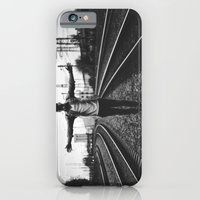 iPhone Cases featuring Lucky #7 by Pudansvalters