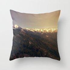 Sequoia National Park Throw Pillow