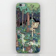 Artist in the Wild iPhone & iPod Skin