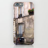 iPhone & iPod Case featuring Paris Sidewalks by Christine Haynes