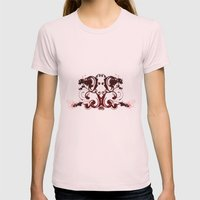 Tattoo Womens Fitted Tee Light Pink SMALL